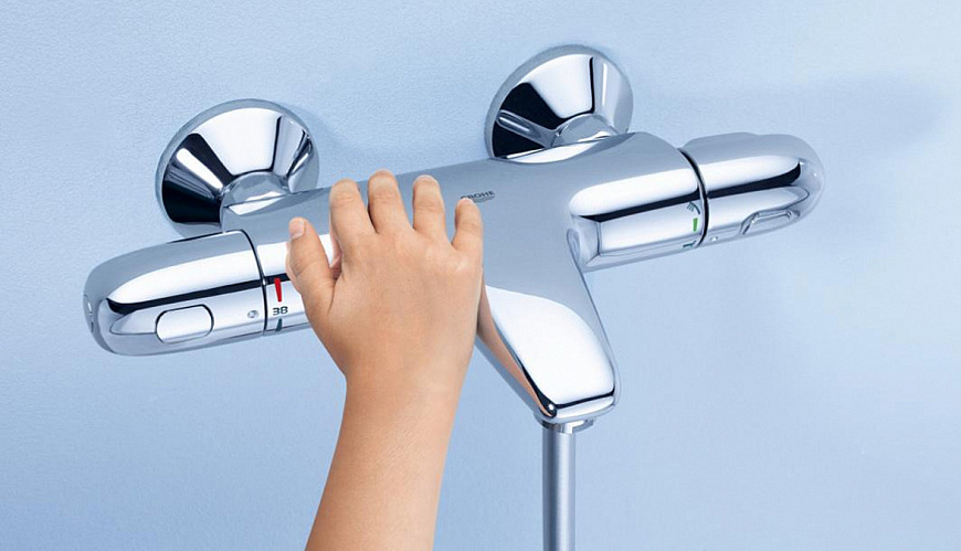 Технология GROHE CoolTouch
